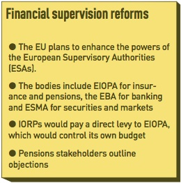 financial supervision reforms