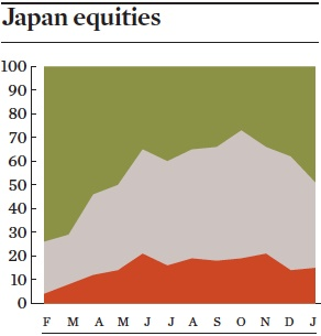 japan equities jan 2017