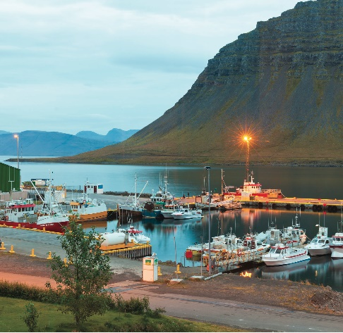 boats in bildudalur harbour icelandic funds look to set sail in foreign waters