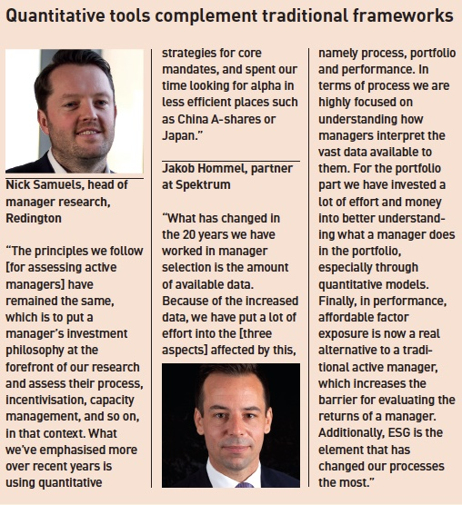 Five key trends shaping manager selection | Magazine | IPE