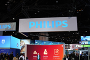 A Philips stand at a trade fair