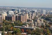 aerial view of Arlington County Virginia