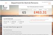 Pension dashboard