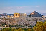 The Acropolis at sunset (Athens, Greece)