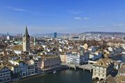 A view of Zurich, Switzerland