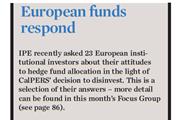 European funds respond
