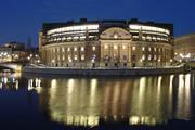 sweden riksdag outside