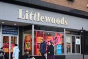 A Littlewoods shop in Chesterfield