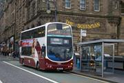 Lothian buses Edinburgh
