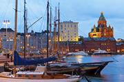 Old Port in Helsinki, Finland