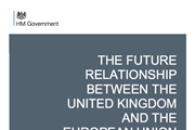 UK government Brexit white paper July 2018