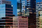 Office buildings in Oslo, Norway