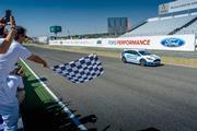 Ford motor racing car