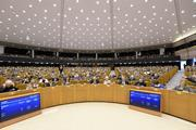 European Parliament inside plenary view