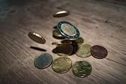 money euro coins currency 332304