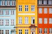 House fronts, Copenhagen, Denmark