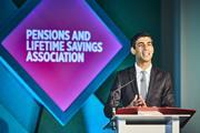 Rishi Sunak, UK local government minister, addresses the PLSA's Local Authority Conference