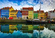 Nyhavn pier, Copenhagen, Denmark
