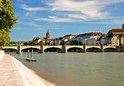 middle bridge basel switzerland