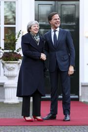 Theresa May, Mark Rutte