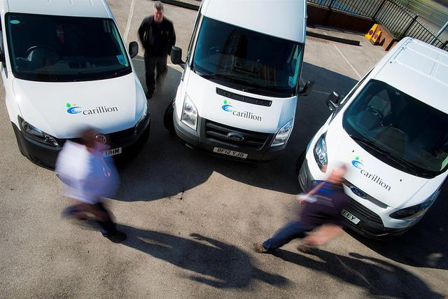 Carillion vans