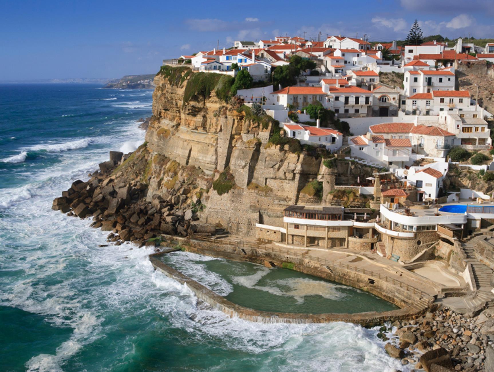 A seaside village in Portugal