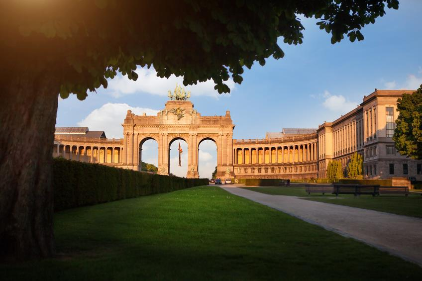 The Triumphal Arch in Brussels, Belgium