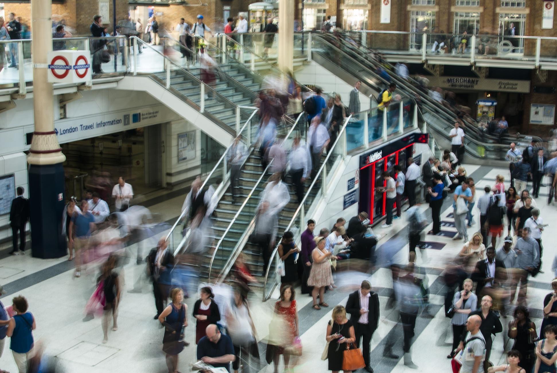 London's Liverpool Street station