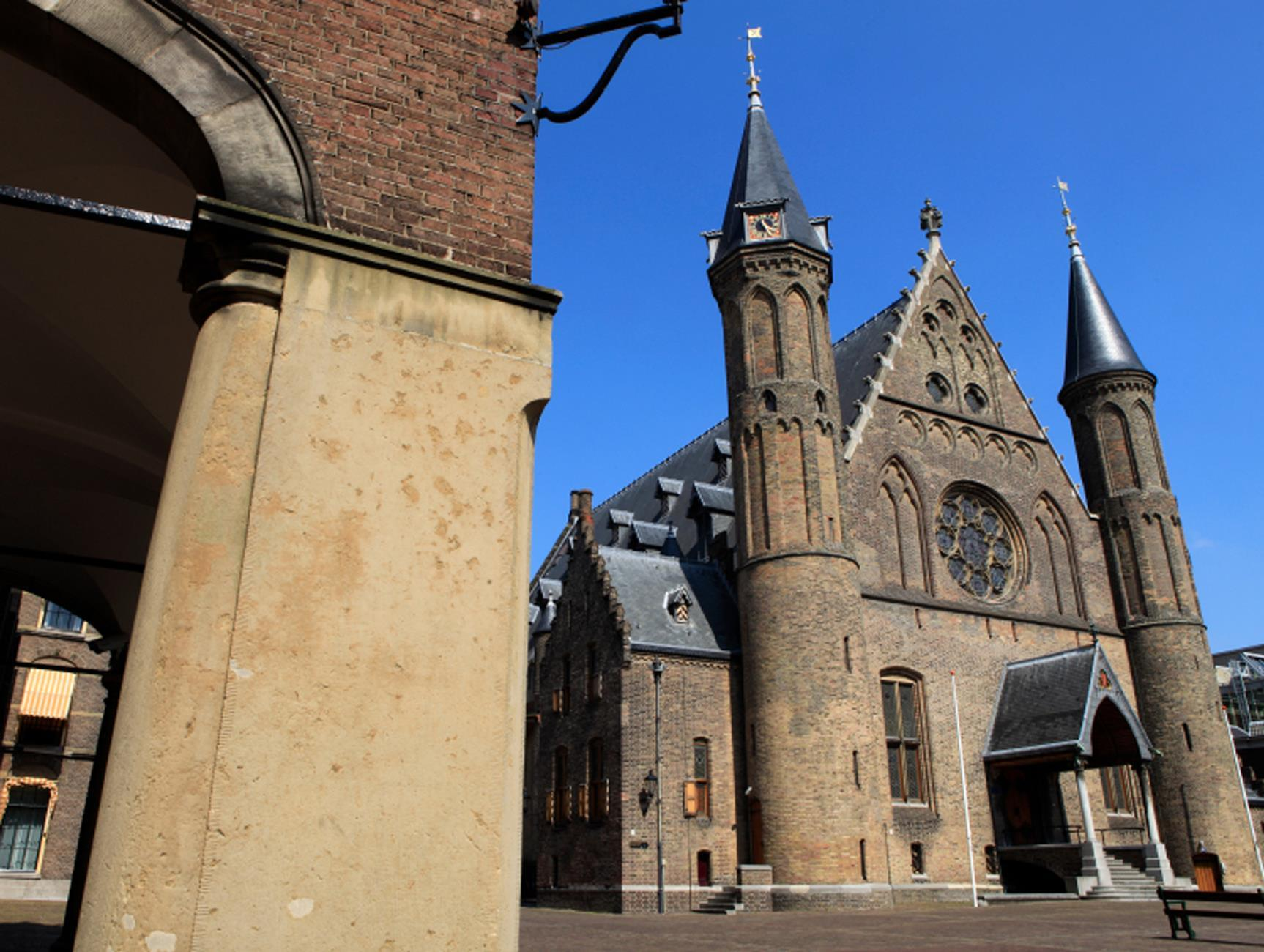 Knights' Hall at Binnenhof in The Hague