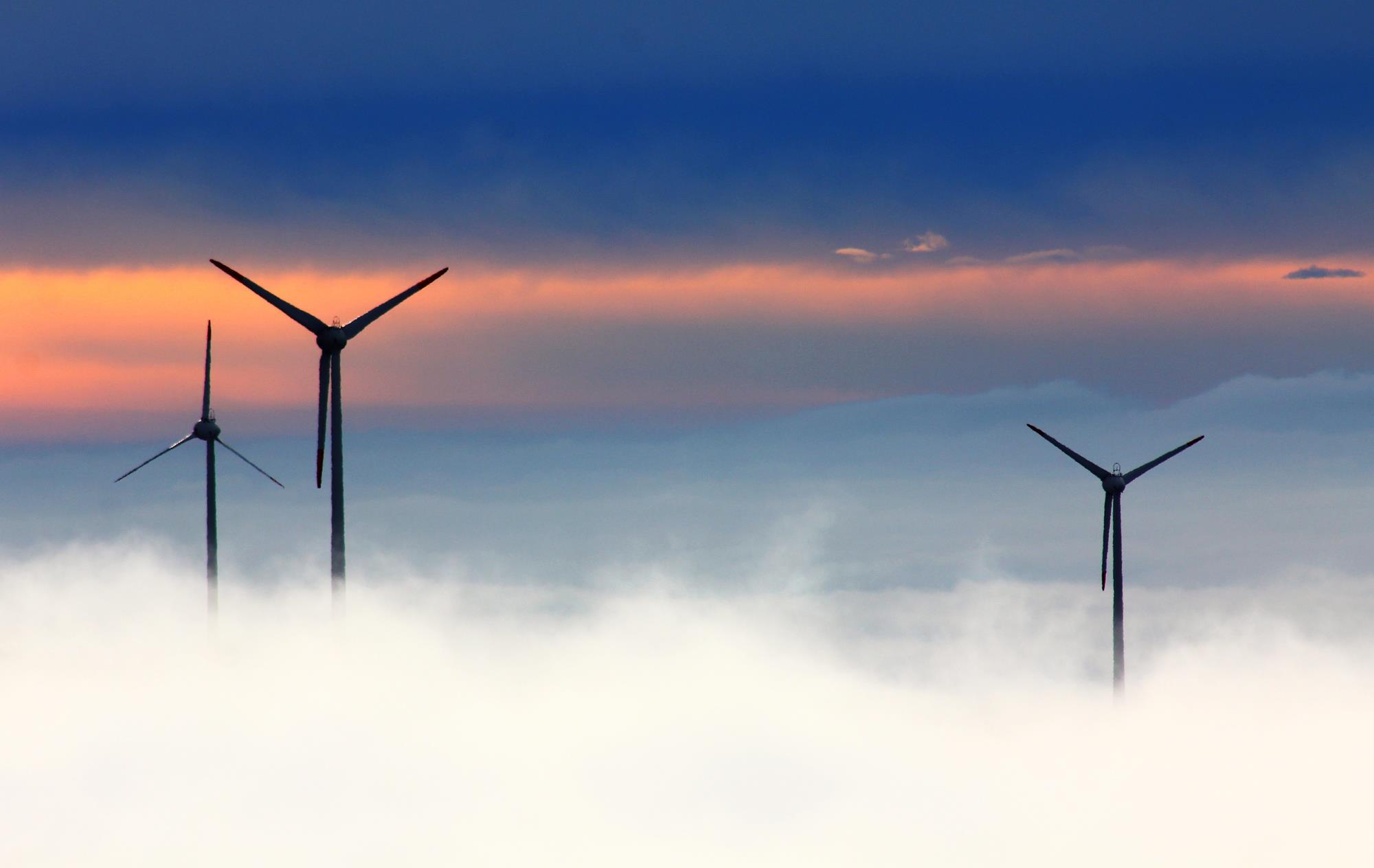 windrader wind power fichtelberg wind park