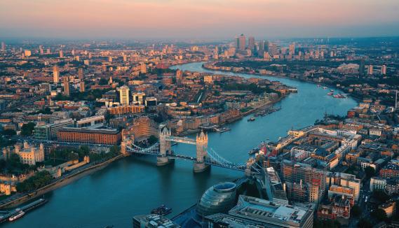 London landscape, UK