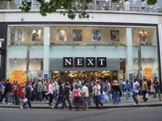Next store Oxford Street London corporate