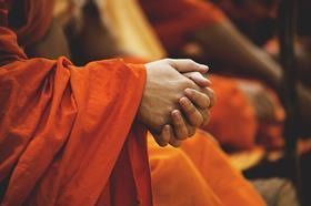 monk prayer pray