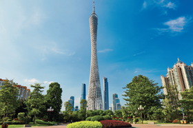 The Canton Tower, China