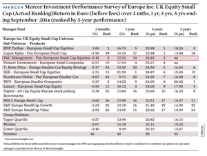Investing In Small & Mid-Cap Equities: Focus from diversity | Magazine | IPE
