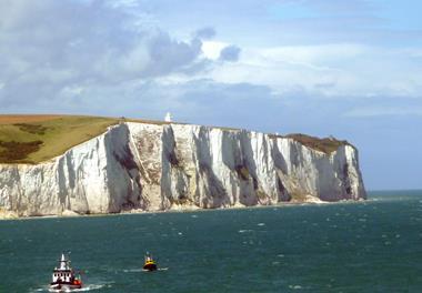 White cliffs of Dover, England, UK