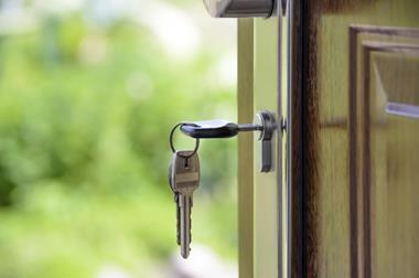 front door, key, housing, residential