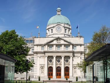 The Dáil, Ireland's Parliament, in Dublin