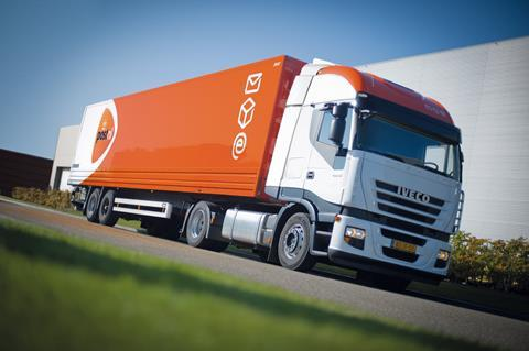 PostNL delivery truck