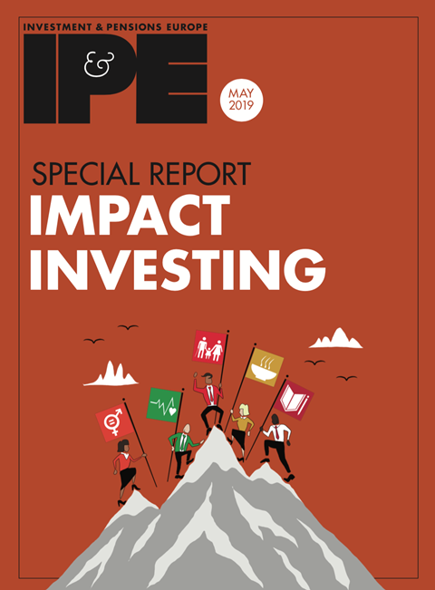 impact investing special reort may 2019