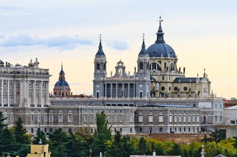 Almudena Cathedral, Madrid, Spain