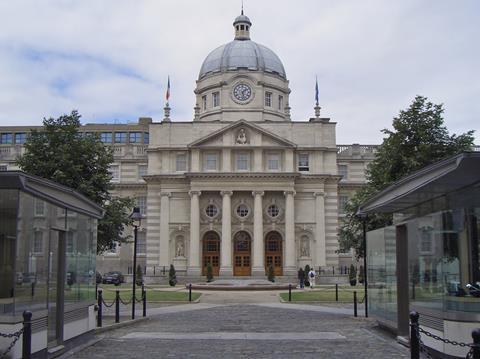 Ireland government buildings