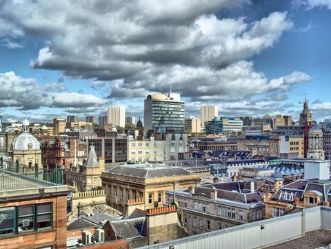 The city of Glasgow