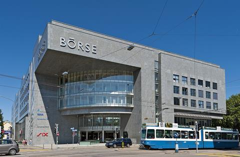 SIX swiss stock exchange building