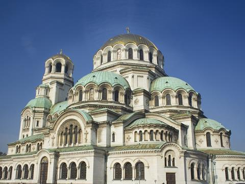 Aleksander Nevsky Cathedral in Sofia, Bulgaria
