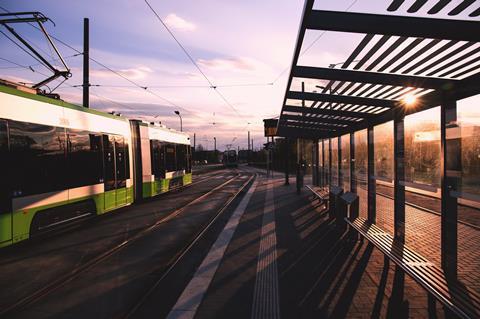 infrastructure public transportation tram