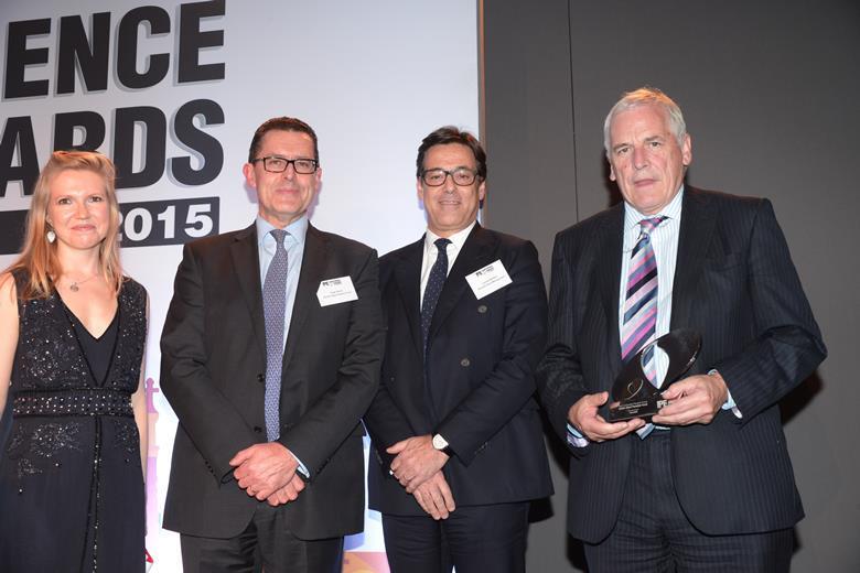 British Steel Gold Award 2015
