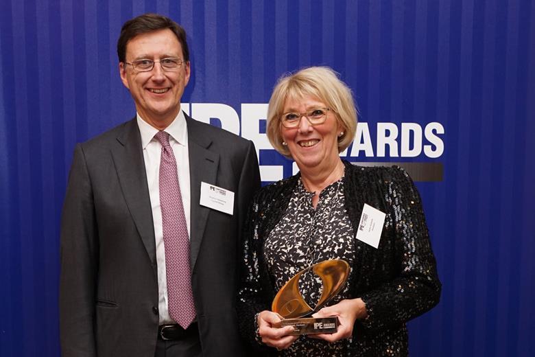 gold pension fund achievement of the year, helen kobæk, pen sam
