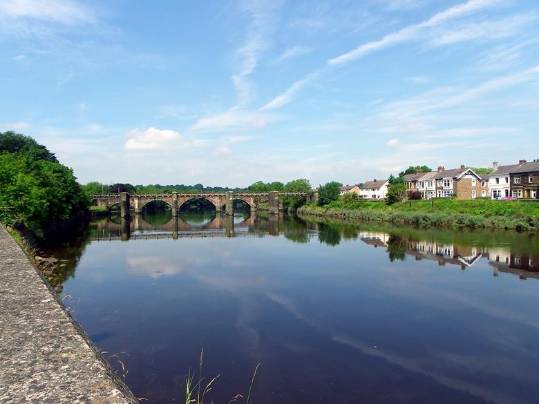River Ribble in Lancashire