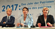 election candidates from left geert wilders frauke petry and marine le pen
